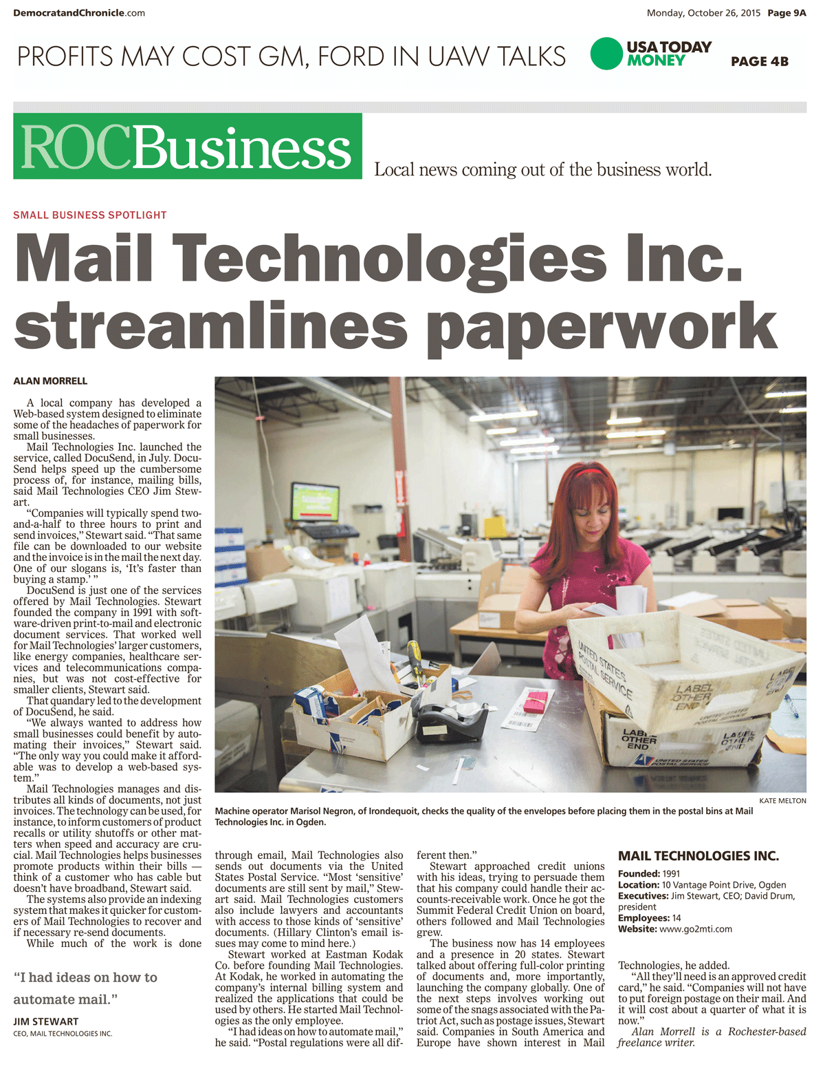 ROC Business Mail Technologies